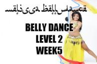 BELLY DANCE LEVEL2 WK5 SEPT-DEC 2018