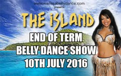 MELISSA BELLY DANCE END OF TERM SHOW GUESTLIST TICKETS