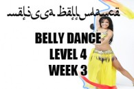 BELLY DANCE LEVEL 4 WK3 SEPT-DEC 2018