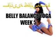 BELLY BALANCE YOGA WK5 JAN-APR2015