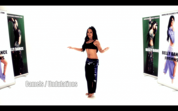 Melissa Belly Dance Movements