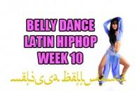 LATIN BELLY DANCE HIP HOP WK10 JAN-APR2017
