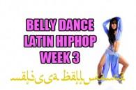 LATIN BELLY DANCE HIPHOP WK3 SEPT-DEC 2018