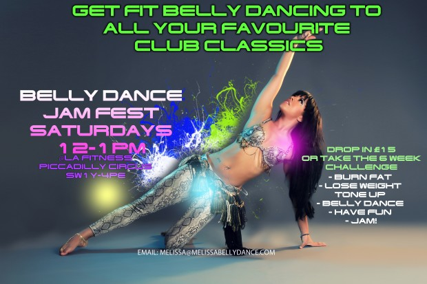 Belly Dance Jam Fest @ Fitness First Carnaby St Branch | London | United Kingdom