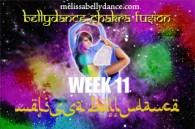 BELLY DANCE CHAKRA WK11 APR-JULY 2018