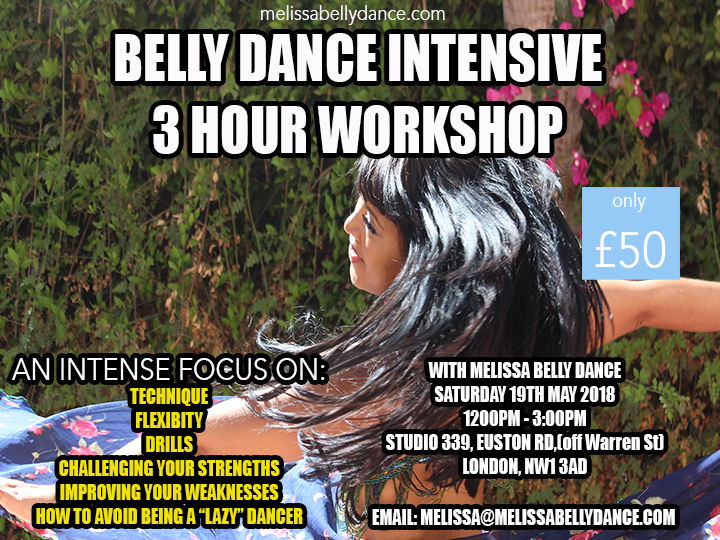 Belly Dance Intensive MAY 2018