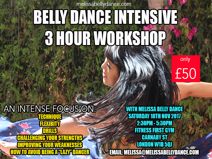 Belly Dance Intensive NOV 2017