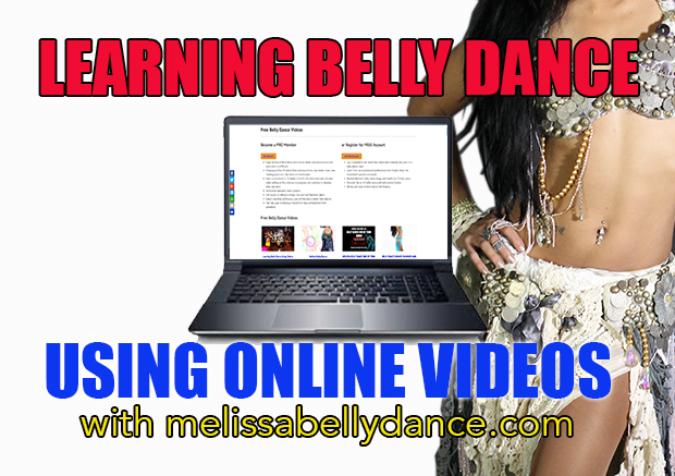 Learning belly dance using online videos
