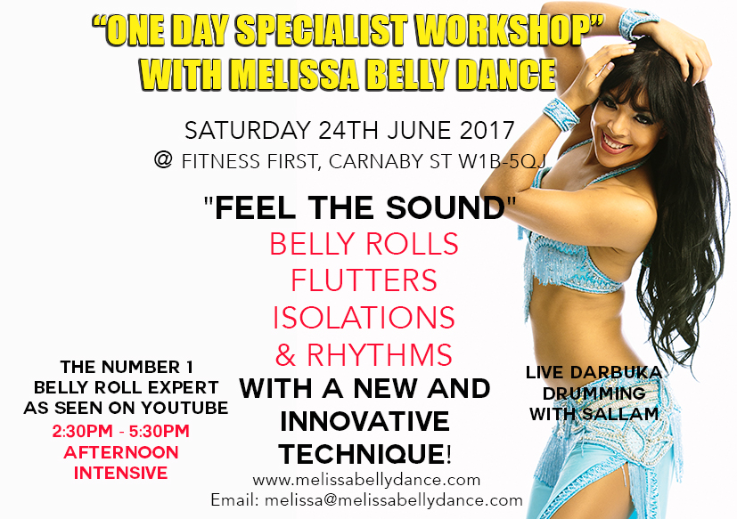 BELLY ROLLS FLUTTERS AND ISOLATIONS BELLY DANCE WORKSHOP