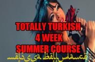 TOTALLY TURKISH ORYANTAL SUMMER 4 WEEK COURSE WK2 2018