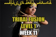 TRIBAL FUSION BELLY DANCE LEVEL1 WK11 JAN-APR 2020