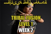 TRIBAL FUSION BELLY DANCE LEVEL1 WK2 SEPT-DEC 2019