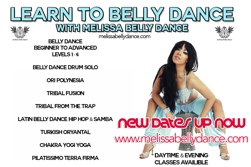 new melissa belly dance course dates