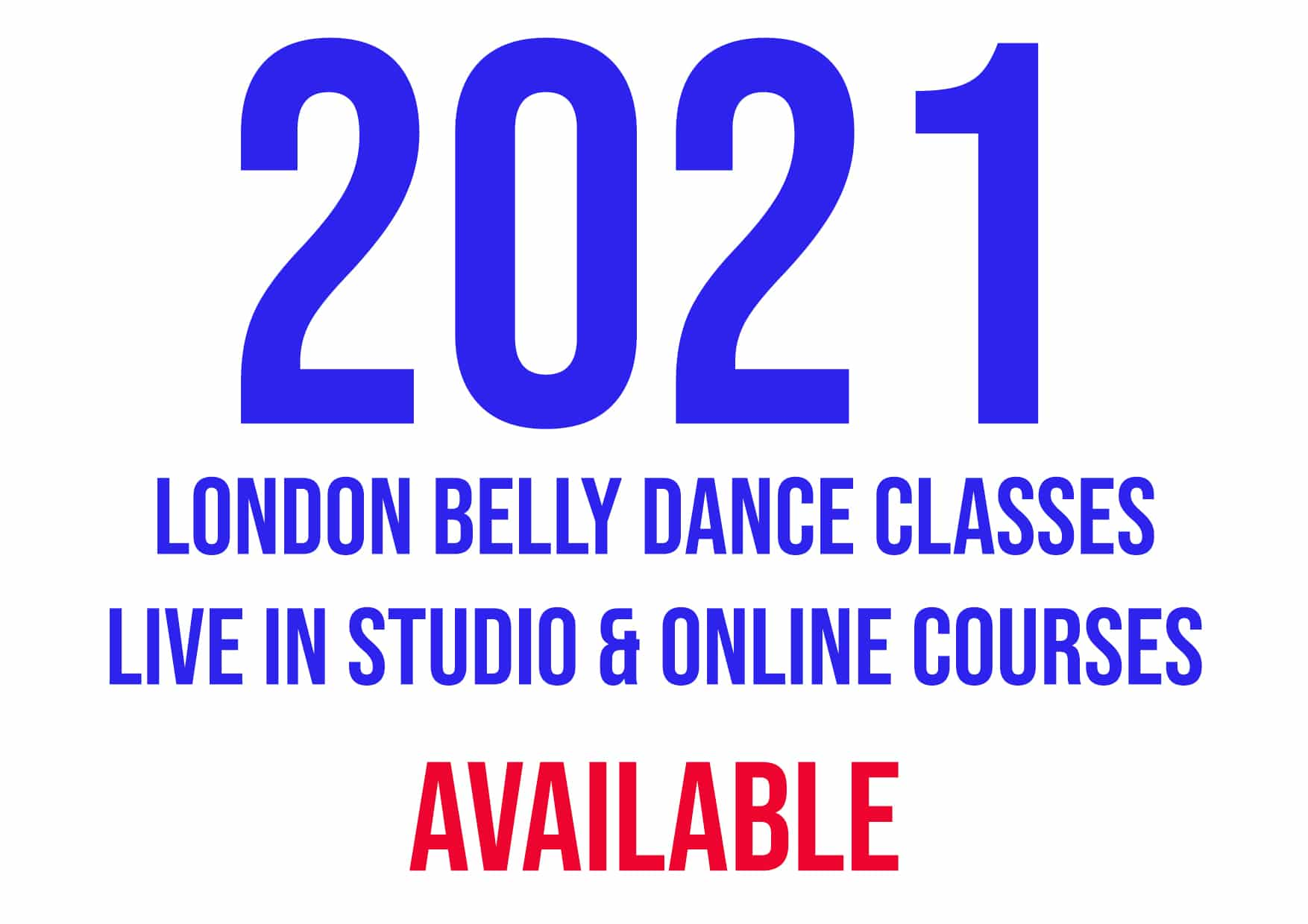 belly dance 4 week courses
