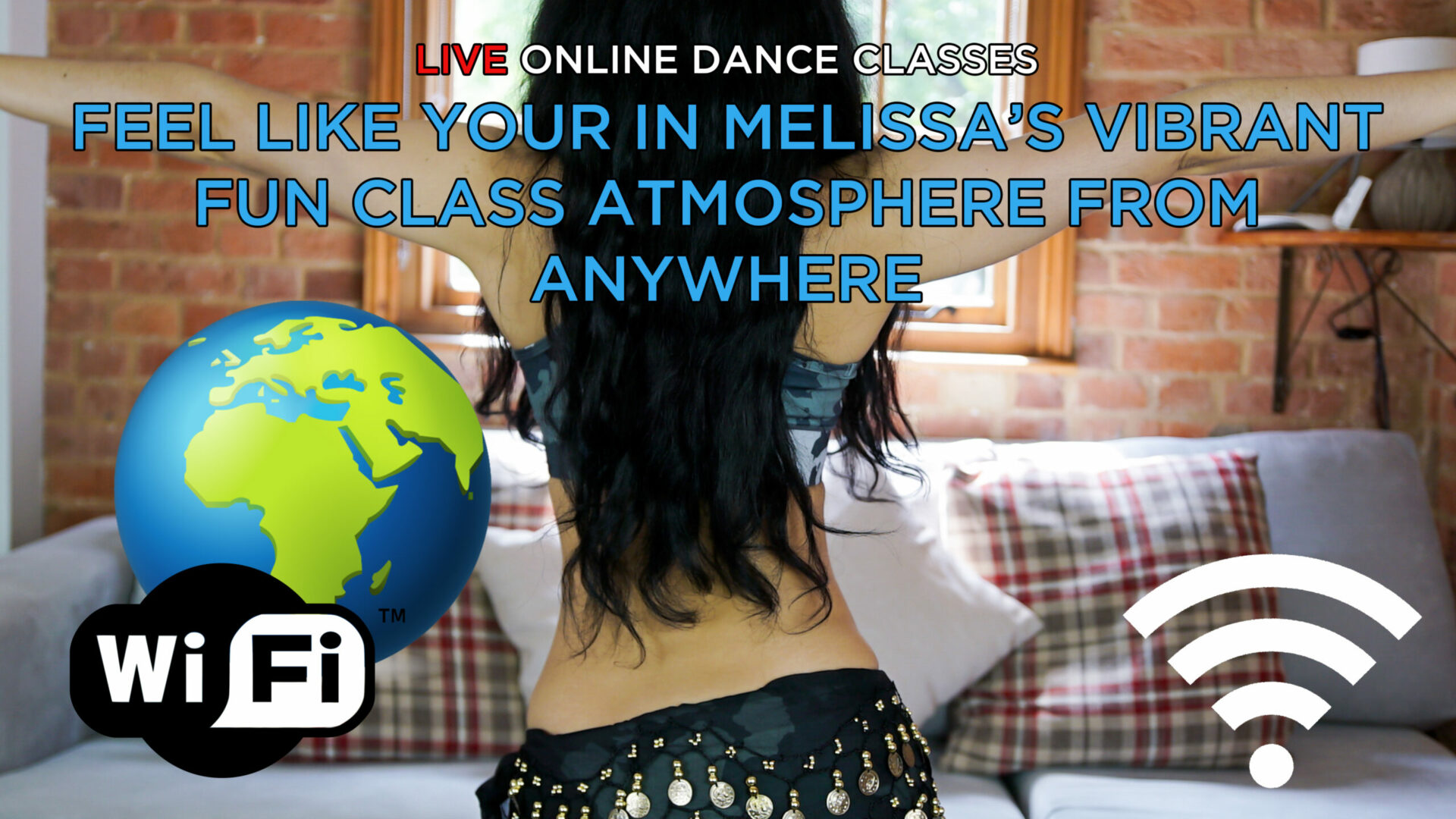 live online belly dance classes